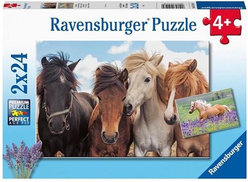 Paardenliefde Puzzel (2 x 24 stukjes)