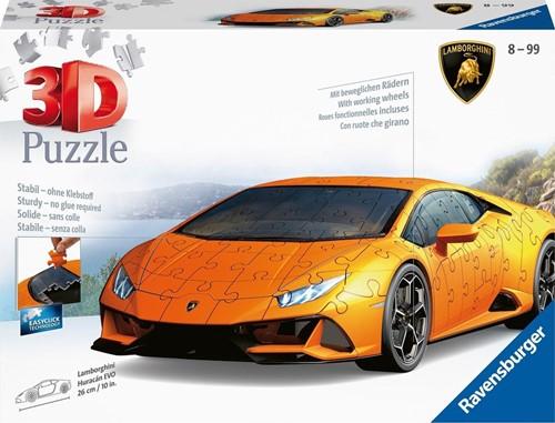 3D Puzzel - Lamborghini Huracán EVO (108 stukjes)