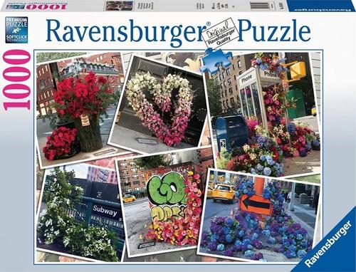 NYC Bloemenpracht Puzzel (1000 stukjes)