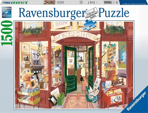 Wordsmith's Bookshop Puzzel (1500 stukjes)