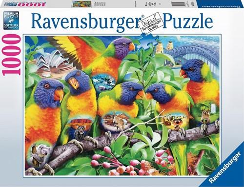 Land van de Lorikeets Puzzel (1000 stukjes)