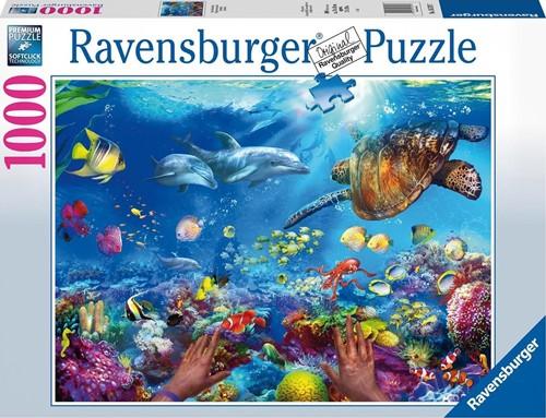Snorkelen Puzzel (1000 stukjes)