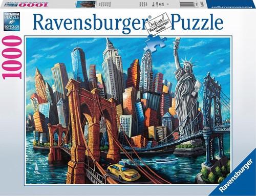 Welkom in New York Puzzel (1000 stukjes)
