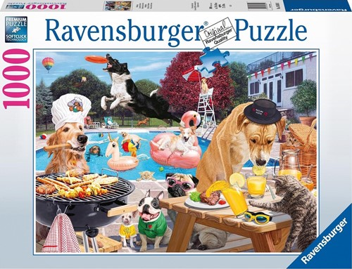 Dag van de Hond Puzzel (1000 stukjes)