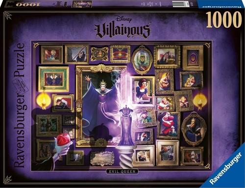VIllainous - Evil Queen Puzzel (1000 stukjes)