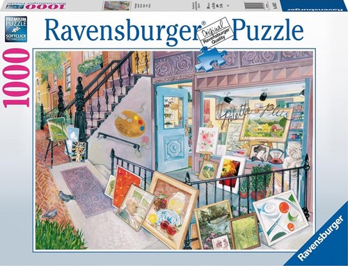 Kunstgalerie Puzzel (1000 stukjes)