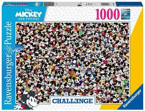 Challenge Puzzel - Mickey (1000 stukjes)