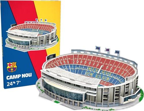 Barcelona - Camp Nou 3D Puzzel (24 stukjes)