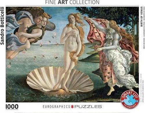 Birth of Venus - Sandro Botticelli Puzzel (1000 stukjes) (Doos beschadigd)