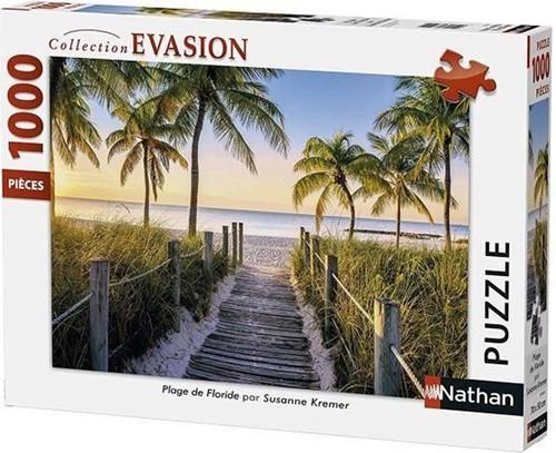 Florida Beach Puzzel (1000 stukjes) (Frans)