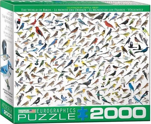 The World of Birds Puzzel (2000 stukjes)