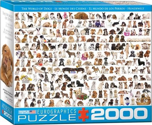 World of Dogs Puzzel (2000 stukjes)