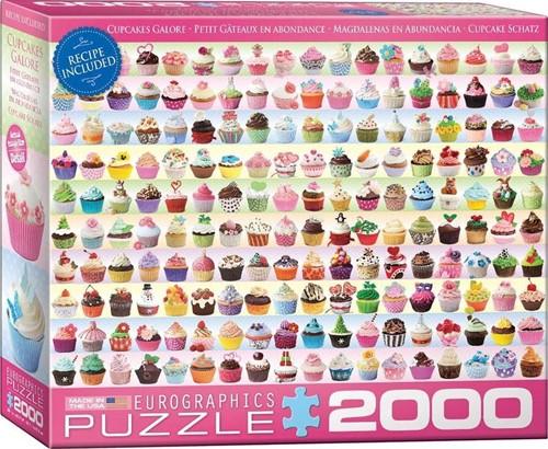 Cupcakes Galore Puzzel (2000 stukjes)