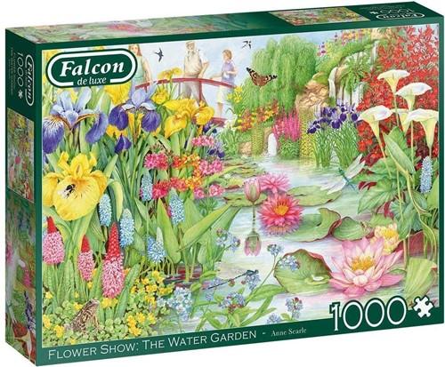 Falcon - Flower Show The Water Garden Puzzel (1000 stukjes)