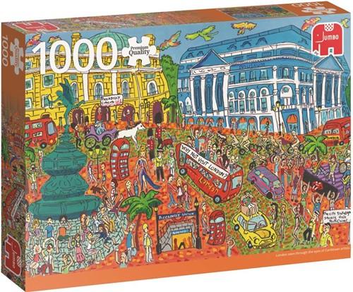 Piccadilly Circus London Puzzel (1000 stukjes)