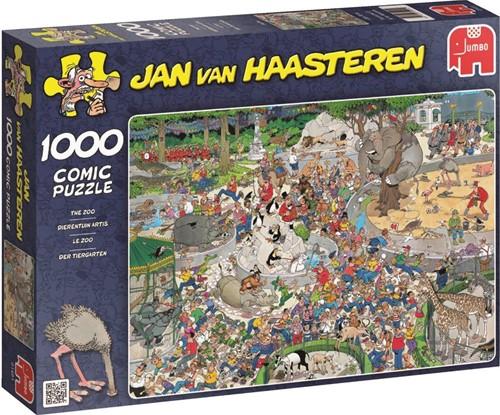 Jan van Haasteren - Dierentuin Artis Puzzel (1000 stukjes)