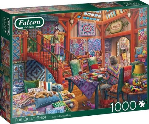 Falcon - The Quilt Shop Puzzel (1000 stukjes)