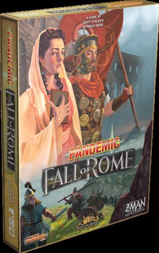 Pandemic Fall of Rome NL (demo spel)