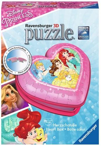 3D Puzzel - Hartendoosje Disney Princess (54 stukjes)