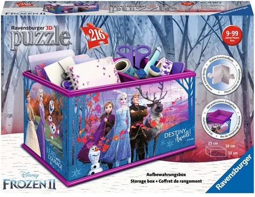3D Puzzel - Frozen 2 Opbergdoos (216 stukjes)