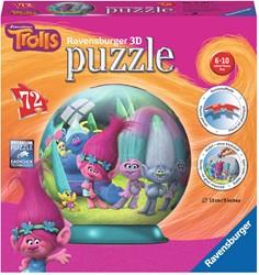 Trolls - 3D Puzzel (72 stukjes)