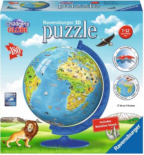3D Puzzel - Kinder Globe - XXL (180 stukjes)