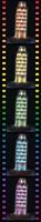 Toren van Pisa - Night Editie (260 stukjes)