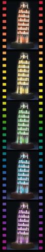 Toren van Pisa - Night Editie (260 stukjes)-3