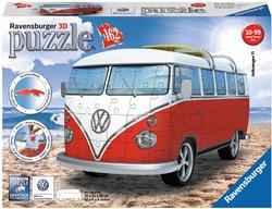 VW Bus 3D Puzzel (162 stukjes)