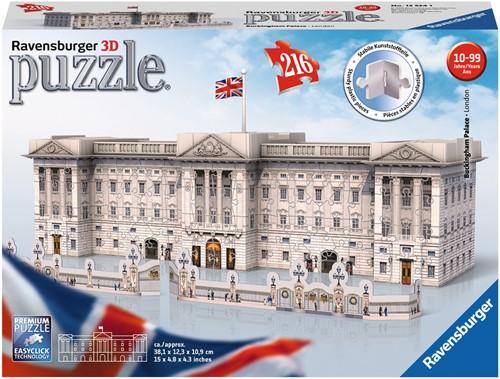 3D Puzzel - Buckingham Palace (216 stukjes)