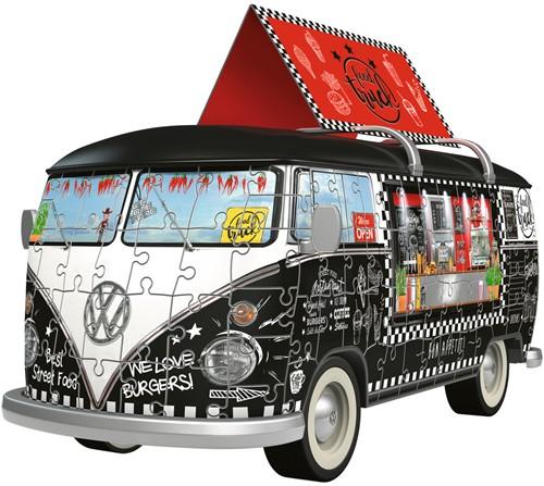 VW Bus Food Truck 3D Puzzel (162 stukjes)-2