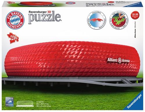 3D Puzzel - Bayern Munchen - Allianz Arena (216 stukjes)