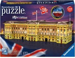 3D Puzzel - Buckingham Palace - Night Edition (216 stukjes)