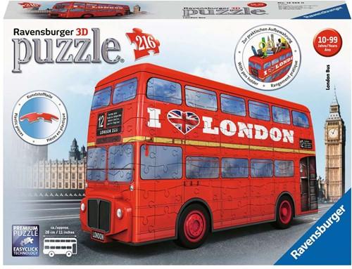 3D Puzzel - London Bus (216 stukjes)