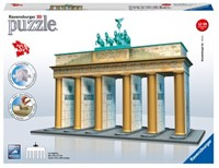 3D Puzzel - Branderburger Tor (324 stukjes)-1