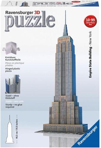 3D Puzzel - Empire State Building (216 stukjes)-1
