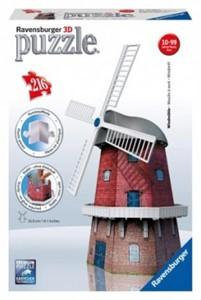 3D Puzzel - Windmolen (216 stukjes)