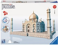 3D Puzzel - Taj Mahal (216 stukjes) (Doos open geweest)