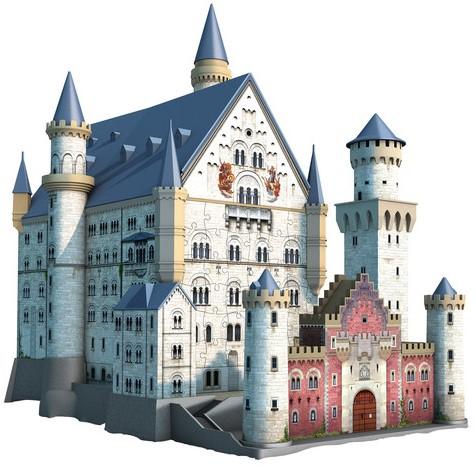 3D Puzzel - Neuschwanstein (216 stukjes)-2