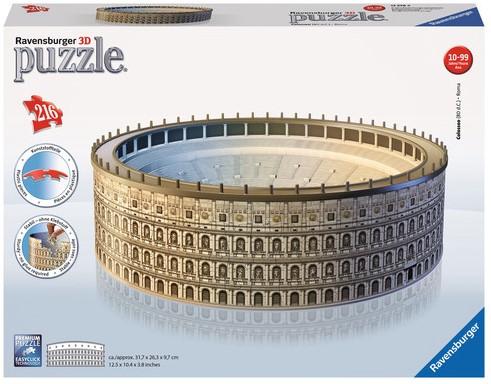 3D Puzzel - Colosseum (216 stukjes)-1