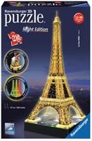 3D Puzzel - Eiffeltoren - Night Edition (216 stukjes)-1