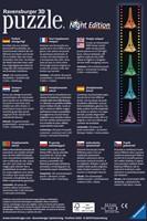 3D Puzzel - Eiffeltoren - Night Edition (216 stukjes)-2