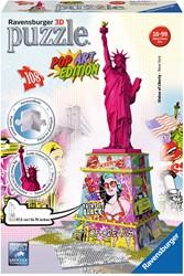 3D Puzzel - Statue of Liberty - Pop Art (108 stukjes)