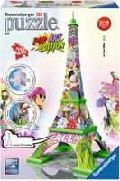 3D Puzzel - Eiffel Tower - Pop Art (216 stukjes)-1