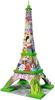 3D Puzzel - Eiffel Tower - Pop Art (216 stukjes)-2