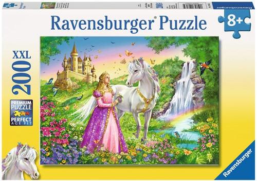Prinses Met Paard Puzzel (200 stukjes)