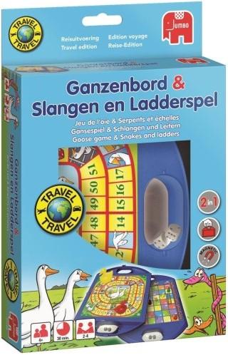Ganzenbord / Slangen & Ladderspel Reisspel