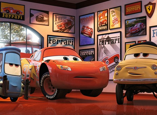 Cars 3 - Vrienden Puzzel (200 stukjes)-2