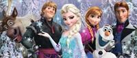 Disney Frozen - Arendelle in het Eeuwige IJs Puzzel (200 stukjes)