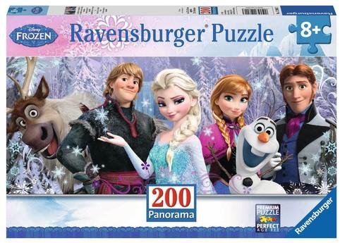 Disney Frozen - Arendelle in het Eeuwige IJs Puzzel (200 stukjes)-1